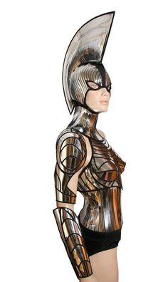 2 piece cyborg cyber robot arm futuristic spartan armour. £367.15 GBP