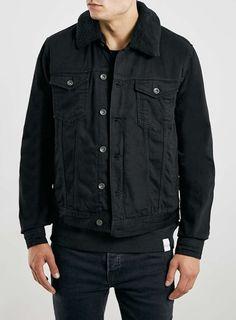 Photo 1 of Black Borg Denim Jacket