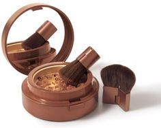 Pure Finish Mineral Bronzer Open Compact by Elizabeth Arden