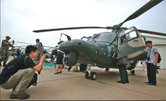 Chinese Z-9WZ military helicopter