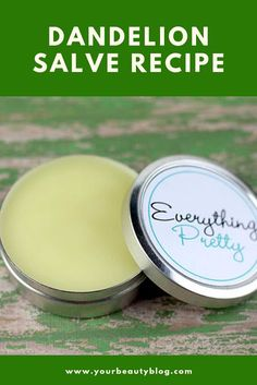 How to make a dandelion salve Learn the benefits and uses of this natural home remedies This dandelion salve recipes is made with real dandelions and infused oils Use thi. Home Remedies For Colds For Babies, Home Remedies For Spiders, Home Remedies For Warts, Uti Remedies, Cold Home Remedies, Natural Health Remedies, Herbal Remedies, Pineapple Health Benefits, Salve Recipes