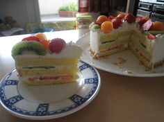 Fruits Decoration Cake