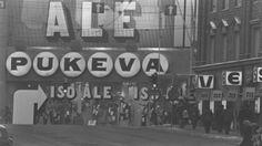 Pukeva ja Vestio kauan sitten Helsinki, Good Old Times, Historical Pictures, Ancient History, Nostalgia, Memories, Black And White, Retro, Irene