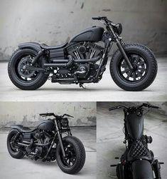 Harley-Davidson Dyna Guerilla by Rough Crafts
