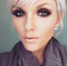 nice Макияж для блондинки с карими глазами (50 фото) — Лучшие идеи