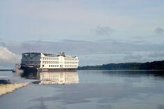 Todas as cabines do Iberostar Grand Amazon possuem varandas.
