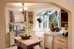 Classic Tudor Remodel in Bend Oregon - traditional - kitchen - portland - Homeland Design, llc
