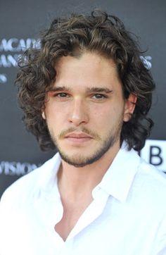 Kit Harrington. AKA: Jon Snow in Game of Thrones. Favorite character!! Next to Kaleesi aka Emilia Clarke