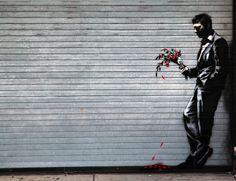 New Banksy Piece Shows a Man Waiting in Vain - My Modern Metropolis