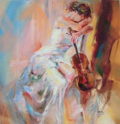 """""""White Note IV"""" by Anna Razumovskaya"""