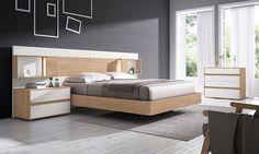Gráfika bedrooms COMP / 014 Roble / Blanco lacado