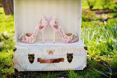 peonie wedding shoes