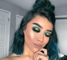 Gorgeous Makeup: Tips and Tricks With Eye Makeup and Eyeshadow – Makeup Design Ideas Makeup Eye Looks, Cute Makeup, Eyeshadow Looks, Gorgeous Makeup, Glam Makeup, Pretty Makeup, Skin Makeup, Eyeshadow Makeup, Beauty Makeup