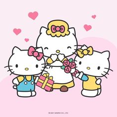Hello Kitty Pictures, Kitty Images, Hello Kitty Items, Sanrio Hello Kitty, Sanrio Characters, Fictional Characters, Hello Kitty Wallpaper, Love My Family, Jikook