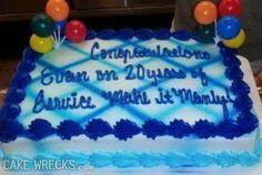 Manly man cakes  Cake wrecks