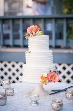 cool Pièce montée 2017 - Intimate Spring Backyard Wedding