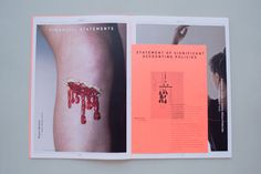 Craft; Annual Report on Behance