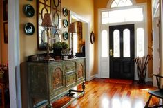 Nichol's Home - traditional - entry - atlanta - by Corynne Pless