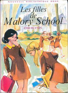 Les filles de Malory School, by Enid BLYTON