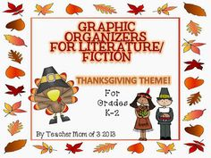 Teacher Mom of 3: More Top Ten Thanksgiving Books for Kids & Graphic Organizers FREEBIE