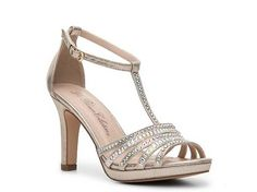 DeBlossom Agnes-12 Sandal in champagne from DSW — $24.94