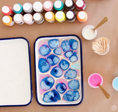 Make your own marbled paper - Think.Make.Share.