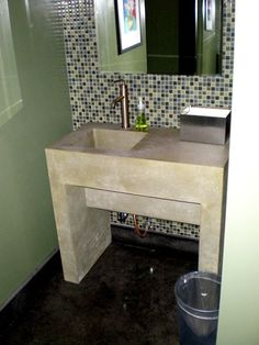 Florida Concrete Countertops Concrete Sinks Concrete -N- Counters Lutz, FL