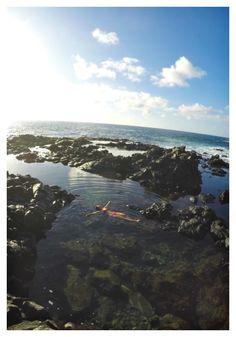 Makapu'u Tide Pools. Oahu, Hawaii.