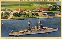 Historic California Posts: Naval Air Station, North Island