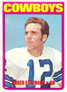 1972 Topps Football Cards Value | 1972 Topps Roger Staubach #200 Football Card Value Price Guide