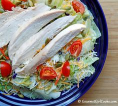 Gourmet Girl Cooks: Big Main Dish Salads...It's What's For Dinner!