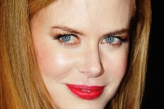 makeup for red hair and blue eyes | Nicole Kidman, Best Celebrity Makeup Looks for Blue Eyes
