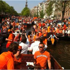 Q-day in Amsterdam....30th April every year