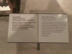 At the British Museum!
