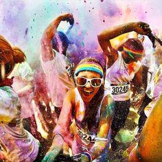 The Color Run também conhecida como os 5 km mais felizes e divertidos do Planeta, é uma corrida colorida única e realmente inesquecível para quem participar