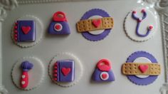 Doc mc stuffins edible cupcake toppers by CoutureSweetTreats, $26.00