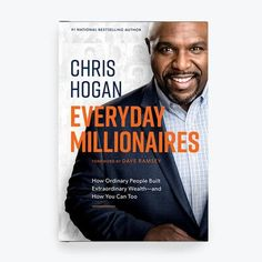 *Orders Ship in In his latest book, Chris Hogan destroys millionaire myths that keep everyday people from achieving financial independence. Dave Ramsey Books, Good Books, Books To Read, The Ramseys, Total Money Makeover, Self Development Books, Dollar, Become A Millionaire, Financial Peace
