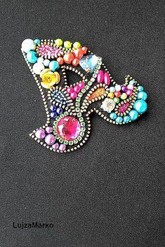 Lana De Tejer Hobby Craft Oro Antiguo Broche Pin Totalmente Nuevo Libre P/&P