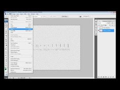 Como fazer gráficos de Crochê com o Photoshop - Parte 02 - YouTube