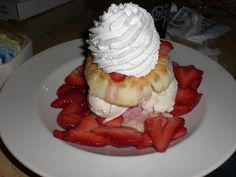 Cheesecake Factory recipe for Strawberry Shortcake!