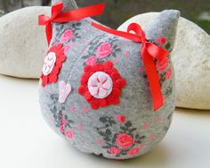 Free Shipping Handmade Owl Sock Stuffed Toy Home Decor Soft Doll Birthday Gift Unique Design by RageRabbit on Etsy