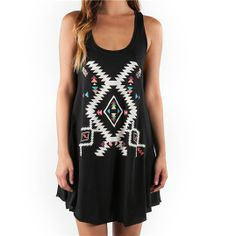 Element Keisha Dress - Black - JD625KEI | Element US