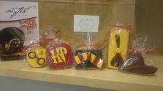 Deliciosas galletas artesanas inspiradas en la saga literaria Harry Potter.
