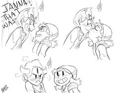 Jantom Kiss part 3<<< Emily, you shipped them before it was cool!
