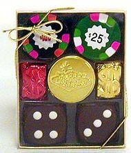 Chocolate Casino Gift Box - Small Size