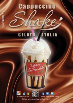 Cappuccino SHAKE :) Gelato - Italia :)