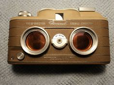 Vintage Personal View-Master Stereo Camera w/Junior Projector and accessories!