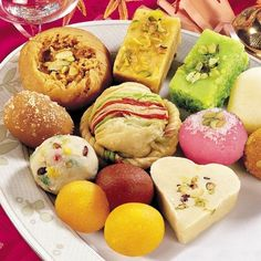 Pakistan's Best online gift shop to send Mix Mithai Pakistan online. Send Mix Mithai Pakistan to pakistan to your loved ones and families Indian Desserts, Indian Sweets, Indian Dishes, Indian Food Recipes, Pakistani Desserts, Holi Recipes, Indian Snacks, India Food, Diabetes