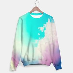 DREAMERING SWEATER BY NIKA FOR LIVEHEROES One of its kind, unique full print (or not)custom sweater created by you. Stylish, warm and comfy - no matter how often you wash it, it won't fade away or loose it's shape.Create allover printed sweatshirtwith galaxy, marijuana, emoji, nebula - choose your favourite! All items can be returned within 14 days unless used. No questions asked.Estimated shipping time - 14 days. #LIVEHEROES #NIKA #SWEATER #COLORFUL #CLOUDS #SKY #PHOTOGRAPHY #FANTASY…