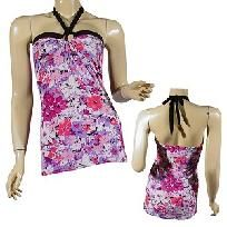 in stock now! $7.99 sleeveless halter top m,l,xl